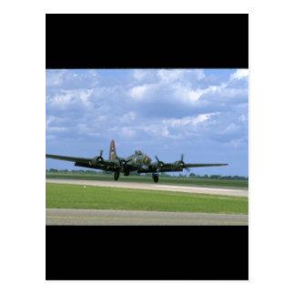 Entfernendes B17, vordere Right_WWII Flugzeuge Postkarte