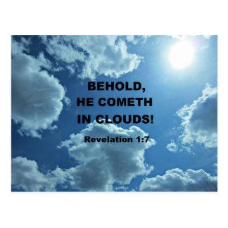 Enthüllungs-1:7 Postkarte