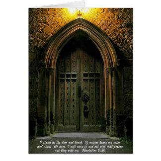 Enthüllungs-3:20 große Tür Karte