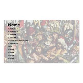 Entkleiden von Christus durch Hirtz Hans Visitenkarten