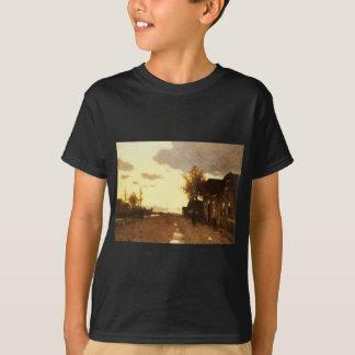 Entlang dem Kanal durch Johan Hendrik Weissenbruch T-Shirt