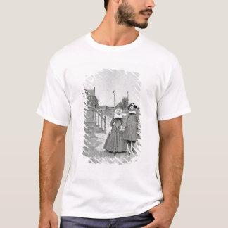 Entlang dem Kanal in altem Manhattan T-Shirt