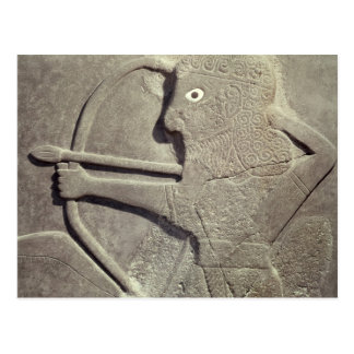 Entlastung darstellend Jäger, von SagenSie, Postkarte