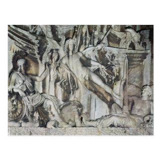 Entlastung der Apotheose des Kaisers Antoninus Postkarte