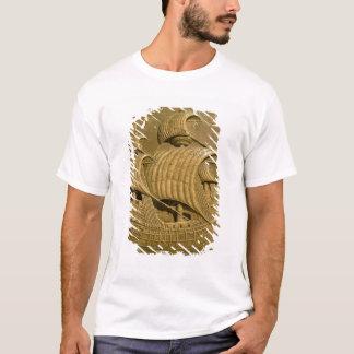 Entlastung, die ein venezianisches galleon T-Shirt