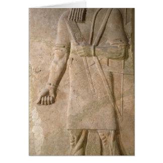 Entlastung eines Assyrian Kriegers Karte