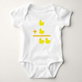 Entleinzusatz 1 plus 1 baby strampler