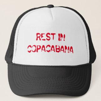 Entreißen Sie im copacabana Fernlastfahrer-Hut Truckerkappe