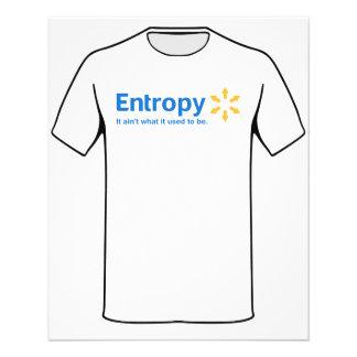 Entropie ist es nicht, was es verwendete, um zu flyer