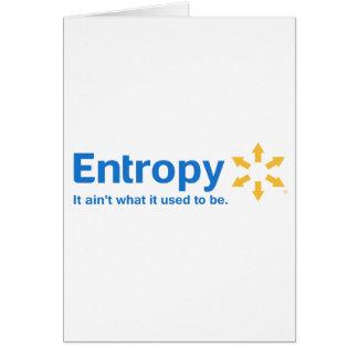 Entropie ist es nicht, was es verwendete, um zu karte