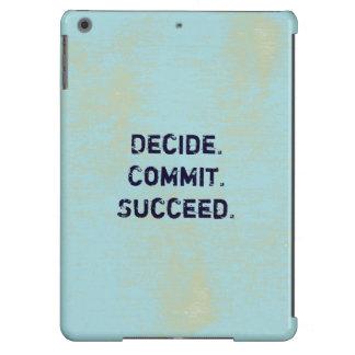 Entscheiden Sie. Legen Sie fest. Folgen Sie. iPad Air Hülle