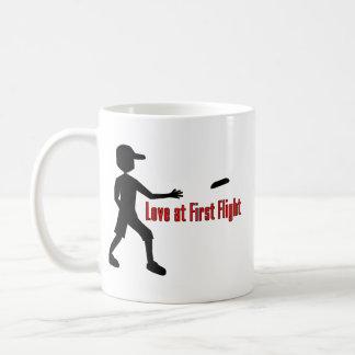 Entscheidende Frisbee-Liebe am Erstflug Kaffeetasse