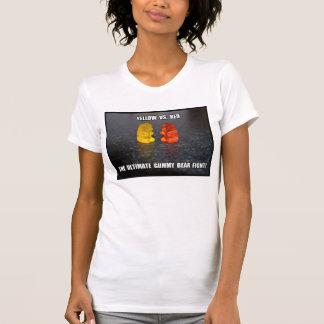 Entscheidender gummiartiger Bärn-Kampf T-Shirt