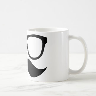 Entscheidender Hipster-Schnurrbart-klassische Tasse