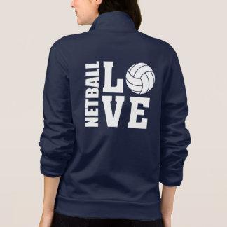 Entscheidender I LiebeNetball der Netball-Spieler-