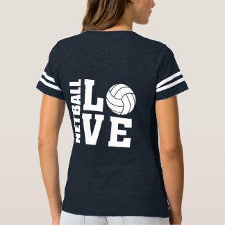Entscheidender I LiebeNetball der Netball-Spieler- T-shirt