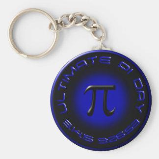 Entscheidender PU-Tag 2015 3.14.15 9:26: 53 (Blau) Schlüsselanhänger