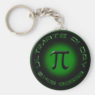 Entscheidender PU-Tag 2015 3.14.15 9:26: 53 (Grün) Schlüsselanhänger