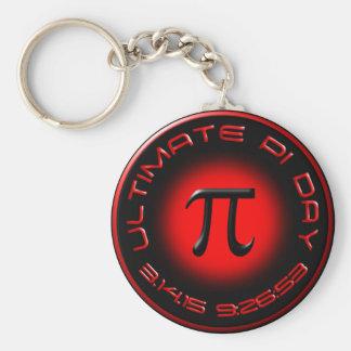 Entscheidender PU-Tag 2015 3.14.15 9:26: 53 (Rot) Schlüsselanhänger