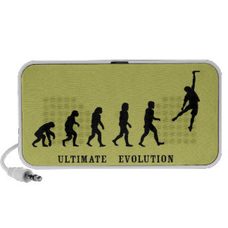 Entscheidendes Evolutions-Gekritzel Notebook Speaker