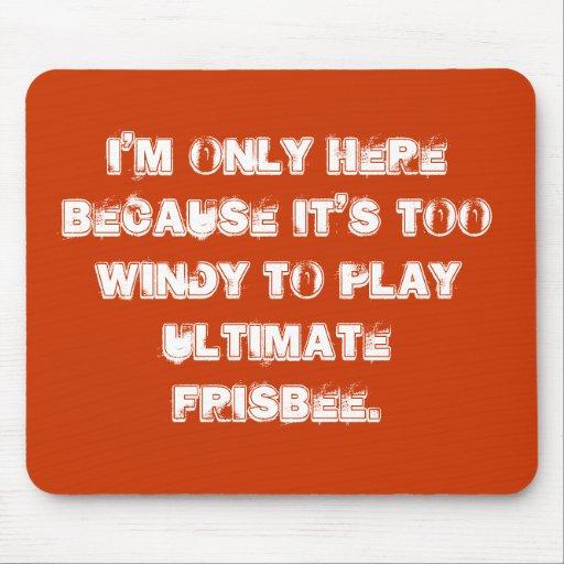 Entscheidendes Frisbee mousepad