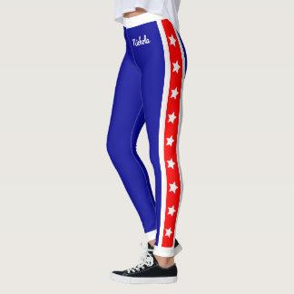 Entscheidendes Patriot USA-US Flagge Leggings