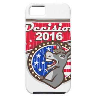 Entscheidungs-Demokrat-Esel 2016 iPhone 5 Schutzhülle