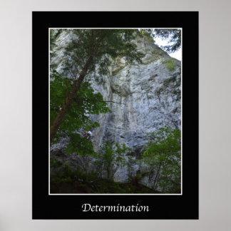 Entschlossenheit-Inspirations-Wand-Plakat Poster