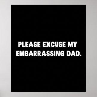 Entschuldigen Sie bitte meinen peinlichen Vati Poster