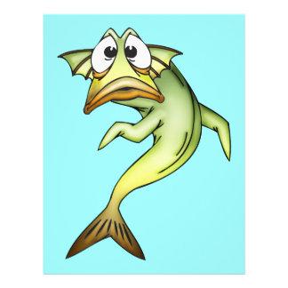 Entsetzte Fische 21,6 X 27,9 Cm Flyer