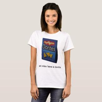 entspannen Sie einfach sich haben ein dorite T-Shirt