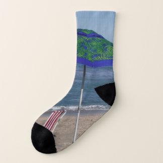 Entspannen Sie sich auf dem Strand Socken