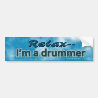 Entspannen Sie sich ich sind ein Schlagzeuger-lus