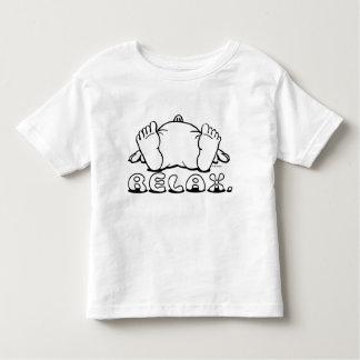 Entspannen Sie sich Kinder T Hemden