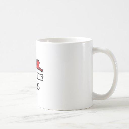Entspannen Sie sich… mich sind der Chef Teetassen