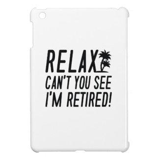 Entspannen Sie sich mich werden zurückgezogen! iPad Mini Hülle