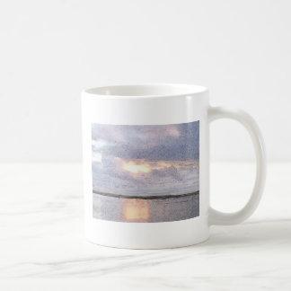 entspannen Sie sich Sonnenuntergang Tasse