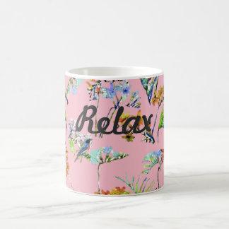 Entspannen Sie sich tropische Tasse
