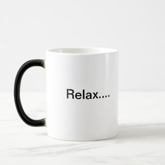 Entspannen Sie sich Verwandlungstasse