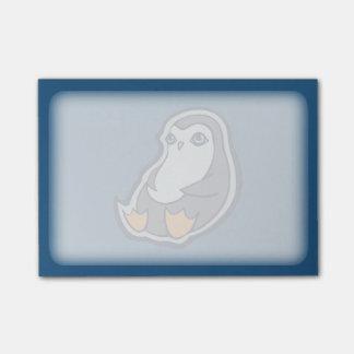 Entspannender Penguin-süße große Augen-Tinte, die Post-it Klebezettel