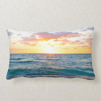 Entspannendes Sonnenuntergang-Kissen Lendenkissen