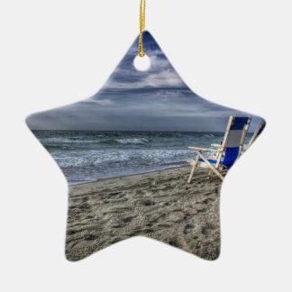 Entspannung am Strand Keramik Ornament