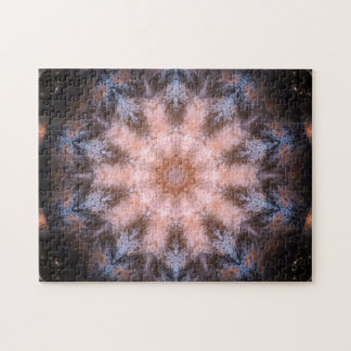 Entspannungs-Mandala des Raum-Portal-| Puzzle