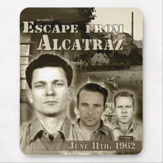 Entweichen 1962 von Alcatraz Mousepads