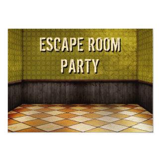 Entweichen-Raum-Geburtstags-Party Einladung