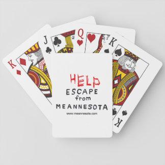 ENTWEICHEN von Meannesota Spielkarten