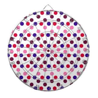 Entwerfen Sie einfache runde Kreis Art-Mode-Punkte Dartscheibe