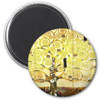 Entwerfen Sie für das Stocletfries - Baum des Runder Magnet 5,1 Cm