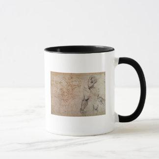 Entwerfen Sie für die Sistine Kapellen-Decke, Tasse