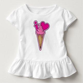 """Entwerfen Sie für Eiscremeliebhaber - """"ich Kleinkind T-shirt"""